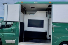 The Blackdown Horsebox in Forest Green
