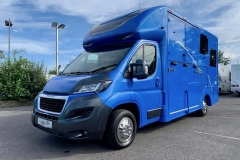 The Mendip 3.5 tonne Horsebox For Sale in Azure Blue