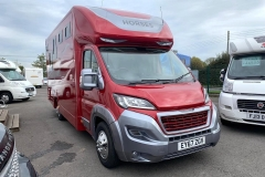 The Quantock Horsebox in Chateau Red